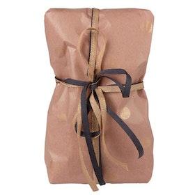 Silkespapper Ark 5-pack Rosa /guld prickar