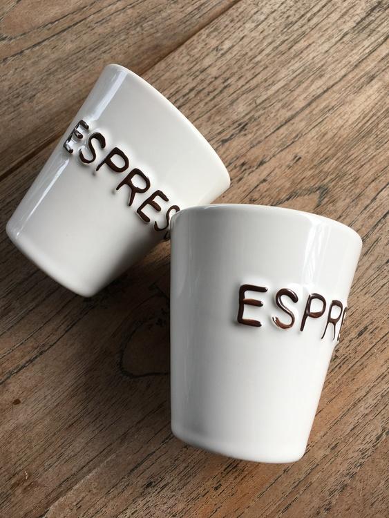 Bruka Design Espresso kopp liten