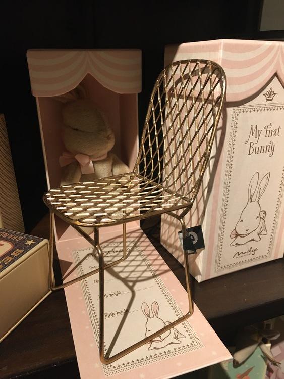 Stol till dockor House Doctor Miniatyr designstol