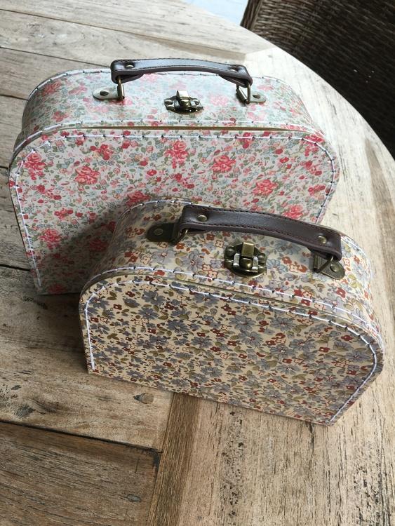 Vintage Floral 2-pack väskor