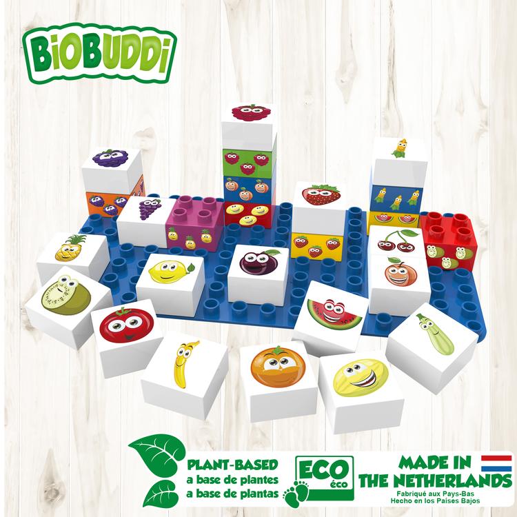Byggklossar Learning Food BioBuddi