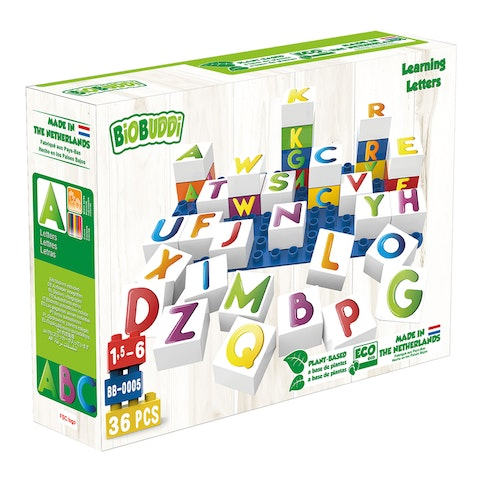 Byggklossar Learning Letters BioBuddi