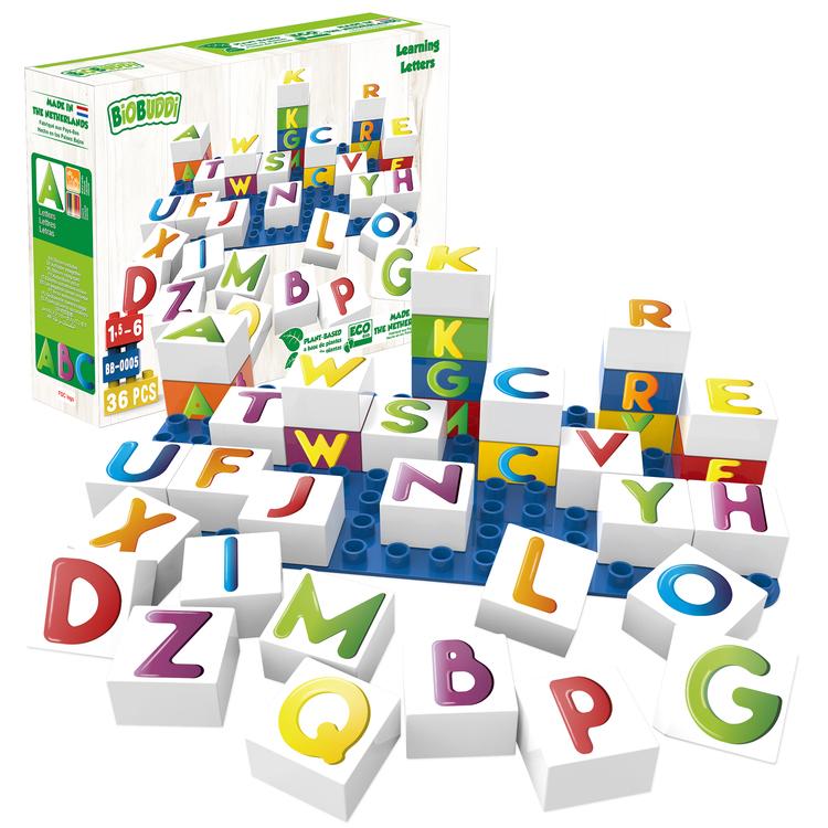 Byggklossar Learning Letters BioBuddi