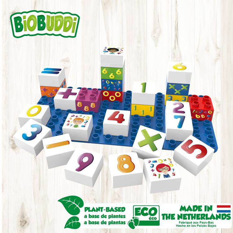 Byggklossar Learning Numbers BioBuddi