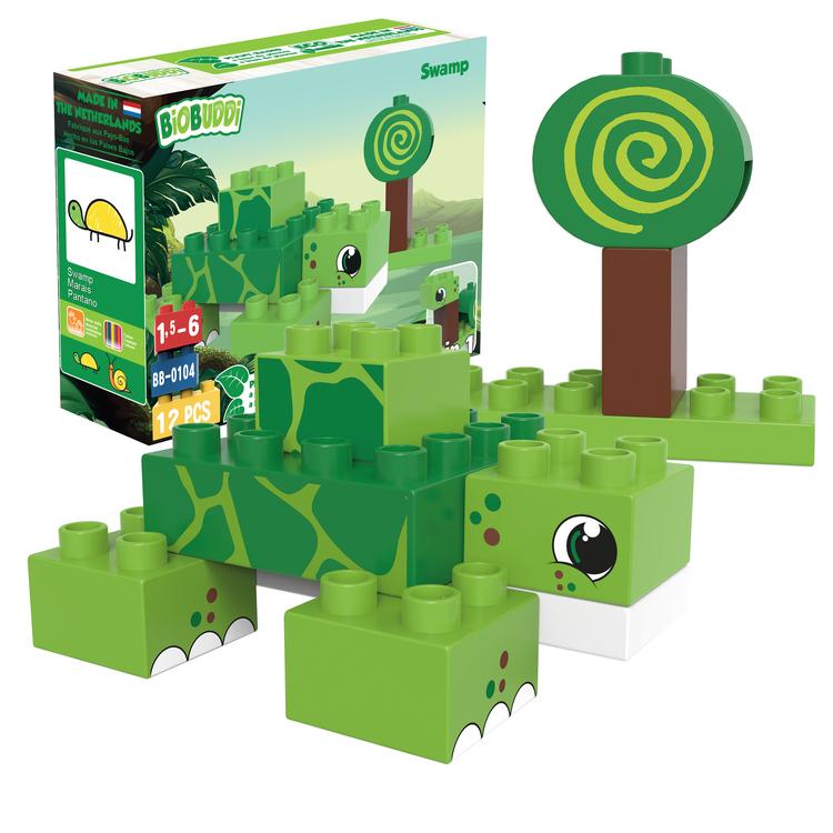 Byggklossar Swamp 2-i-1 BioBuddi