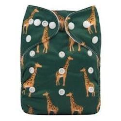 Pocketblöjor- Alva Baby- Giraff