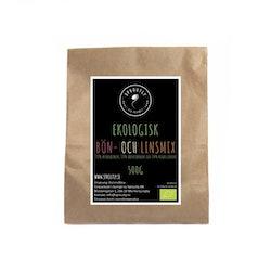 Økologisk bønne- og linseblanding 500g - 1kg
