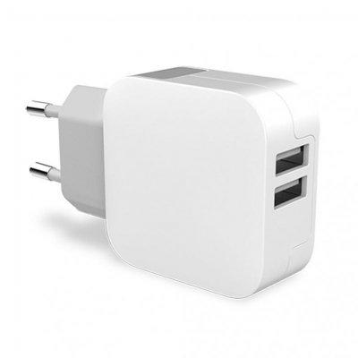 Key Power Wall Dual 2X USB 3.4A Vit