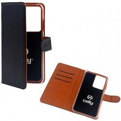 Celly Wallet Case Galaxy S20 Plus - Svart