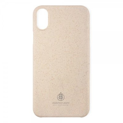 Key iPhone X/Xs Skal Made from Plants - Beige Sand