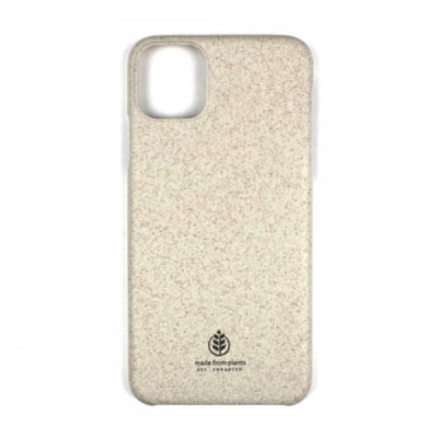 Key iPhone 11 Skal Made from Plants - Beige Sand