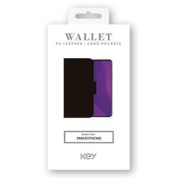 KEY WALLET CLASSIC SAMSUNG GALAXY A71 - SVART