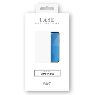 KEY CASE SOFT TPU SAMSUNG GALAXY A71 - CLEAR