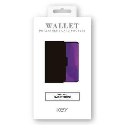 KEY WALLET CLASSIC SAMSUNG GALAXY A51 - SVART