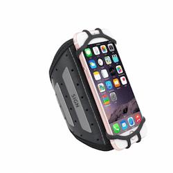 SiGN Sportarmband för Smartphones - Svart