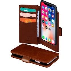 SiGN Plånboksfodral 2-in-1 för iPhone X/XS - Brun