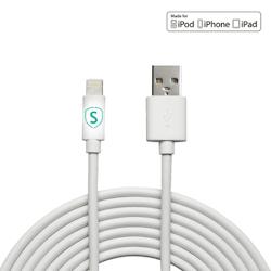 SiGN Lightning-kabel till iPhone / iPad, MFi-certifierad - 1 m