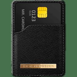 IDEAL MAGNETIC CARD HOLDER SAFFIANO BLACK