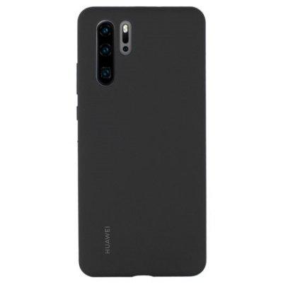 Huawei Silicon Case för Huawei P30 Pro - Svart