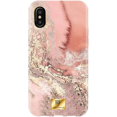 RF BY RICHMOND & FINCH CASE IPHONE X/XS PINK MARBLE GOLD