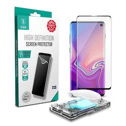 SiGN UV-Skärmskydd för Samsung Galaxy S10 Inkl. Appliceringskit