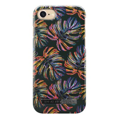 IDeal Fashion Case för iPhone 6/6S/7/8/SE 2 - Neon Tropical