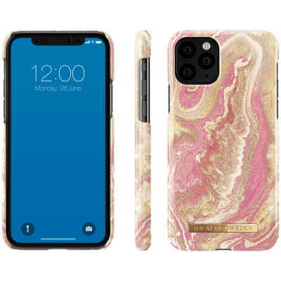 IDeal Fashion Skal för iPhone 11 Pro - Golden Blush Marble