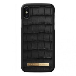 IDeal Capri Case iPhone X/XS - Black Croco