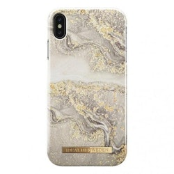 IDeal Fashion Case till iPhone X/XS - Sparkle Greige Marble