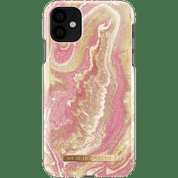 IDeal Fashion Skal för iPhone 11 - Golden Blush Marble