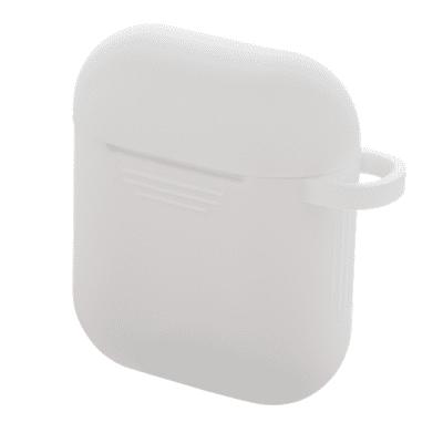 Deltaco Silikonfodral för Apple AirPods - Vit