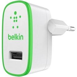 Belkin BOOST UP Snabbladdare 2.4A - Vit/grön