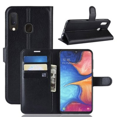 Plånboksfodral för Samsung Galaxy A10 - Svart