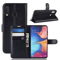 Plånboksfodral för Samsung Galaxy A70 - Svart