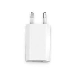 Väggladdare för iPhone, Android m.fl. 1A - Vit