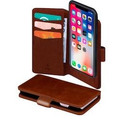 SiGN Plånboksfodral 2-in-1 för iPhone 11 Pro - Brun