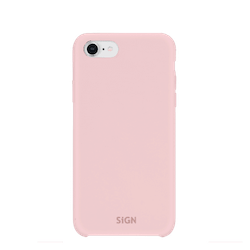 SiGN Liquid Silicone Case för iPhone 6/6s/7/8/SE 2 - Rosa