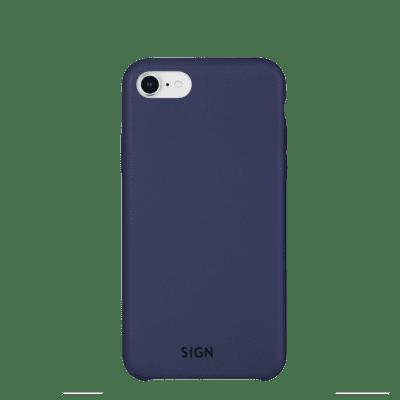 SiGN Liquid Silicone Case för iPhone 6/6s/7/8/SE 2 - Blå