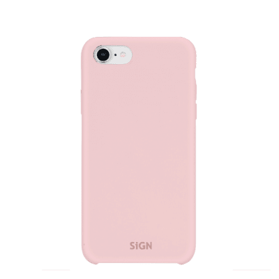 SiGN Liquid Silicone Case för iPhone 6/6s/7/8 Plus - Rosa