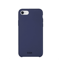 SiGN Liquid Silicone Case för iPhone 6/6s/7/8 Plus - Blå