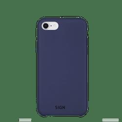 SiGN Liquid Silicone Case för iPhone 6/6s/7/8 Plus - Blå