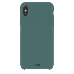 SiGN Liquid Silicone Case för iPhone X & XS - Mint / Grön