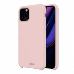 SiGN Liquid Silicone Case för iPhone 11 - Rosa