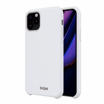 SiGN Liquid Silicone Case för iPhone 11 - Vit
