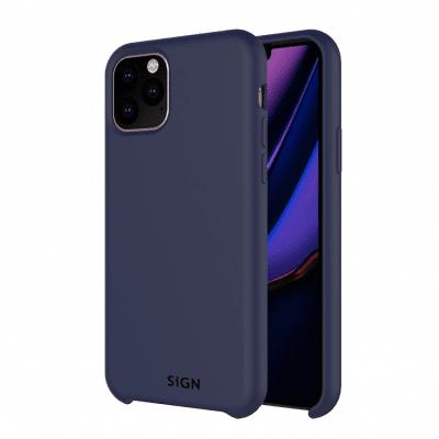 SiGN Liquid Silicone Case för iPhone 11 Pro - Blå