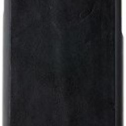 Nic & Mel Charles Äkta Läderskal för iPhone 6/6S/SE 2 - Svart