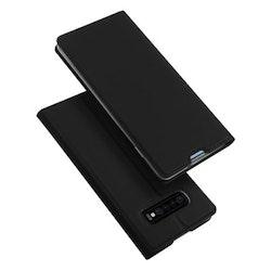SiGN Skin Pro Plånboksfodral till till Samsung Galaxy S10 Plus - Mörkblå