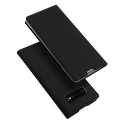 SiGN Skin Pro Plånboksfodral till Samsung Galaxy S10 - Svart