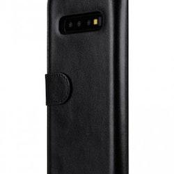 MELKCO Plånboksfodral till Samsung Galaxy S10 - Svart