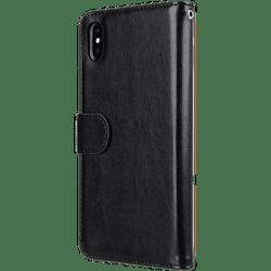 Melkco Plånboksfodral till iPhone XS Max - Svart
